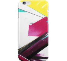 Mint Ray abstract iPhone Case/Skin