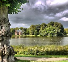 Frederiksborg Castle  (7) ... Summerhouse on the lake. by cullodenmist