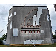 Starlite Drive In Photographic Print