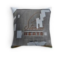 Starlite Drive In Throw Pillow