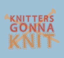 Knitters gonna KNIT Kids Tee
