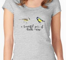 Beautiful Little Tits! Women's Fitted Scoop T-Shirt
