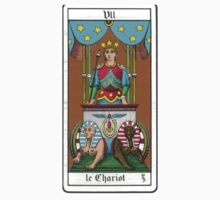 The Chariot Tarot Card by cadellin