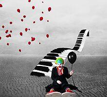 Send In The Clowns.... by Karen  Helgesen