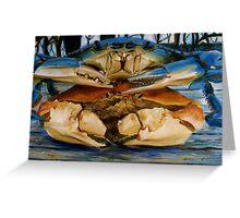 Crabs Greeting Card