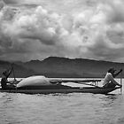 Local Canoe - Pohnpei, Micronesia by Alex Zuccarelli