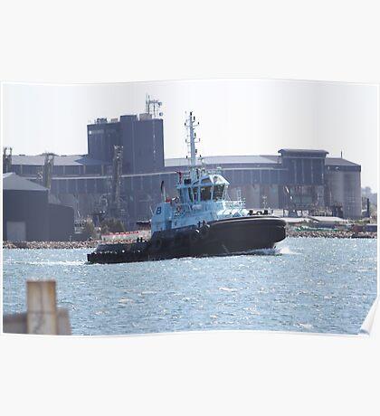 Newcastle Tugboat PB Diamantia Poster