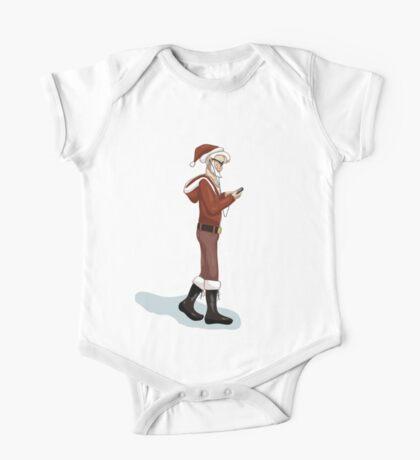 Hipster Santa One Piece - Short Sleeve