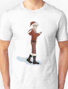 Hipster Santa Unisex T-Shirt