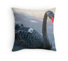 Mother Love at Laurimar Lake  Throw Pillow