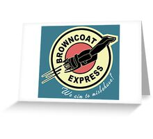 Browncoat Express Greeting Card
