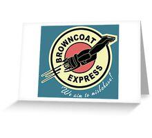 Browncoat Express Greeting Card
