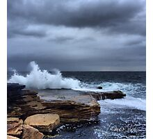 Mohan Rock Pool 24.12.13 Photographic Print