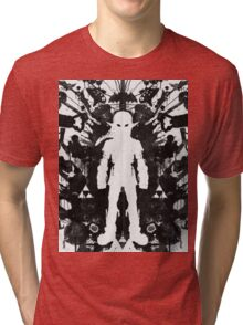 Link White Tri-blend T-Shirt