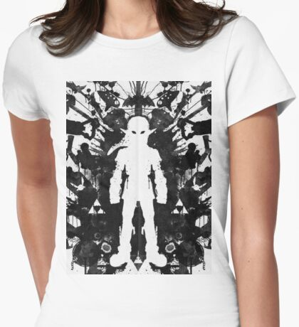 Link White Womens Fitted T-Shirt
