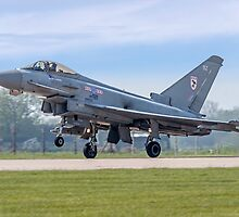 Eurofighter Typhoon F.2 ZJ911/BZ by Colin Smedley