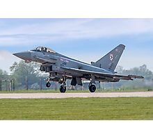 Eurofighter Typhoon F.2 ZJ911/BZ Photographic Print