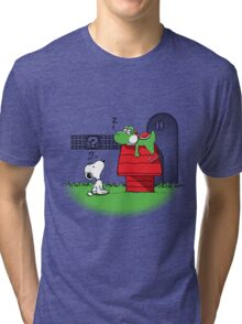Wrong Doghouse Tri-blend T-Shirt