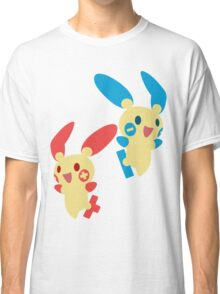 Plusle & Minun Classic T-Shirt