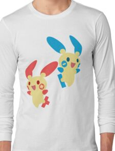 Plusle & Minun Long Sleeve T-Shirt