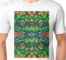 Virtual Psychedelic Space Unisex T-Shirt