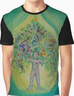 The Everything Tree Oil Drop Graphic T-Shirt