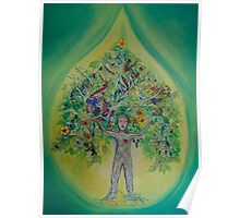 The Everything Tree Oil Drop Poster