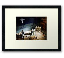 The Nativity Scene  Framed Print