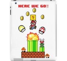 Here we go Mario iPad Case/Skin