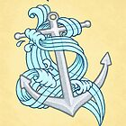 Ocean Wave Anchor by rachels1689