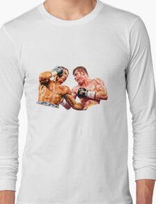 GGG Gennady Golovkin Vs Canelo Saul Alvarez Boxing Long Sleeve T-Shirt