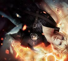 Final Fantasy VII Cloud Strife by artgoodies