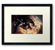 Final Fantasy VII Cloud Strife Framed Print