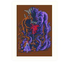 Demon and Child Art Print