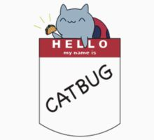 Hello, my name is Catbug! Kids Clothes