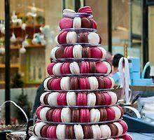 Macaron Tower by Karen E Camilleri