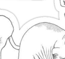 Hairless Cats Sticker