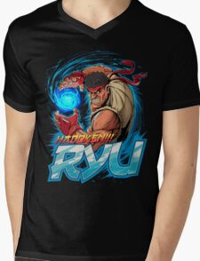 Ryu – Hadoken! Mens V-Neck T-Shirt