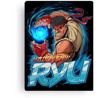 Ryu – Hadoken! Canvas Print