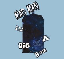 Mad Man In A Big Blue Box Baby Tee