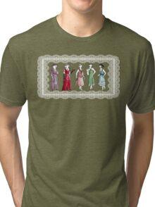 Downton Inspired Fashion Tri-blend T-Shirt
