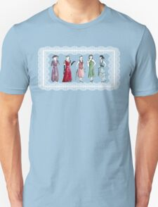 Downton Inspired Fashion Unisex T-Shirt