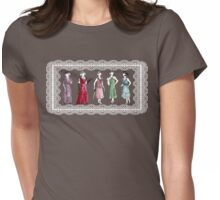 Downton Inspired Fashion Womens Fitted T-Shirt