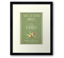 League of legends - Try out a ward! Framed Print