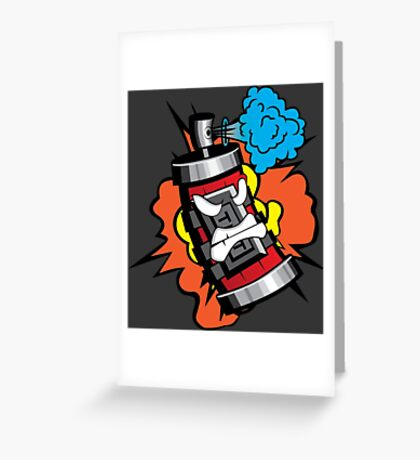 Graffiti Dynamite Greeting Card