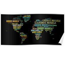 The World Says Good Bye To Mandela Poster