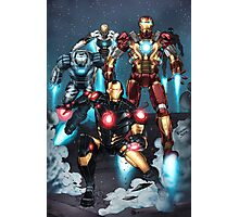 "Iron Man ""Landing"" Superhero Scene by Dheeraj Verma Photographic Print"