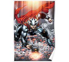 Thor Transporting by Dheeraj Verma Poster