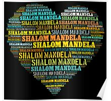 Shalom Mandela Poster