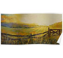 Country Meadow Poster